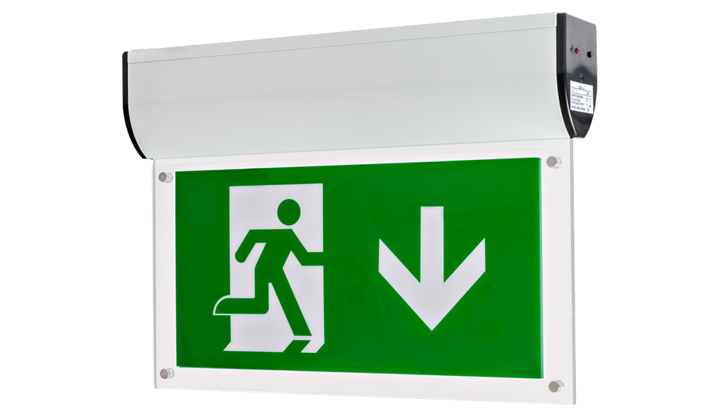 Hbe Emergency Exit Sign