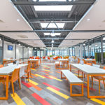 De Montfort University using the Capo LED in their canteen area