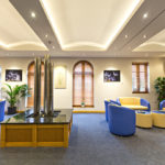 A funeral home using the LED & Comtec FR
