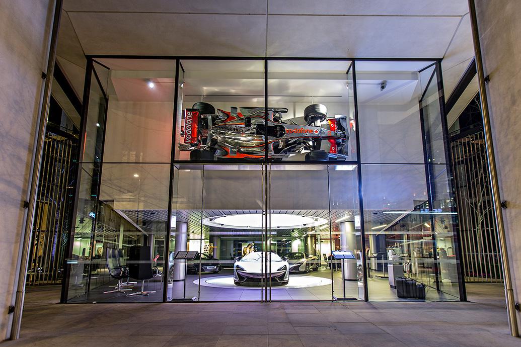 Allure in design u intelligent led lighting for luxury car