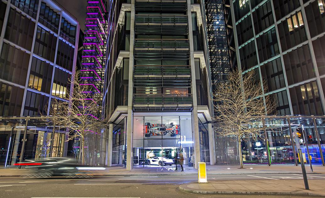 Allure In Design Intelligent LED Lighting For Luxury Car Showrooms - Car showrooms