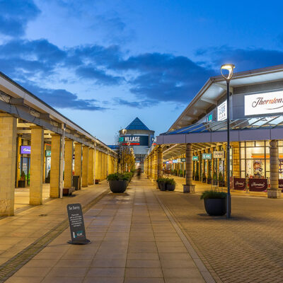 Lakeside Shopping Centre of Doncaster using the Opus 360