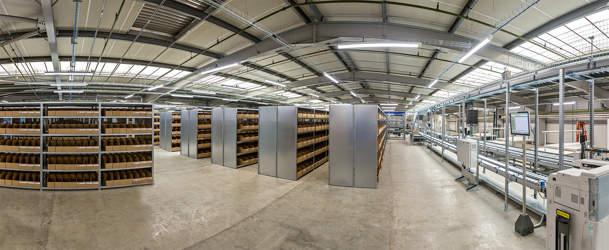 Dextra Group Returns To Draper Tools Hq For Extensive Led Roll Out Wiring A Commercial Building Practical Back Flap Offered Easy Access During Installation And Future Maintenance Projects Where Time Is Of The Essence Luminaires